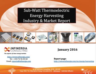 Thermoelectricity Market Report